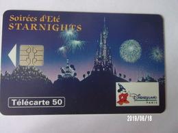 F480A Starnights Eurodisney 50U S05 - Disney