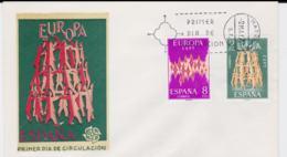 Spain 1972 FDC Europa CEPT (G65-28) - 1972