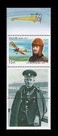 Russia 2012 Mih. 1790 Aviation. Pilot Pyotr Nesterov (with Label) MNH ** - 1992-.... Federazione