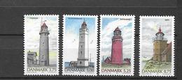1996 MNH Danmark, Michel 1132-35 Postfris** - Danimarca