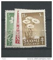 1949 MNH Finland, Finnland, Mi 365-7, Postfris - Non Classés