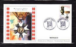 """"""" 200 ANS DE LA LEGION D'HONNEUR / NAPOLEON """" Sur Enveloppe 1er Jour De 2002. N° YT 2341. Parfait état. FDC - Napoléon"""