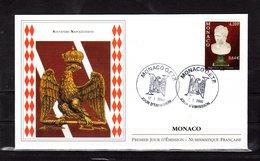 """"""" SOUVENIRS NAPOLEONIENS / NAPOLEON """" Sur Enveloppe 1er Jour De 2002. N° YT 2230. Parfait état. FDC - Napoleon"""