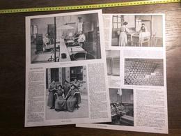 ENV 1900 LES ALUMETTES FABRICATION USINE LEVALLOIS PERRET PANTIN - Collections