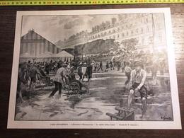 ENV 1900 PARIS PITTORESQUE EXPOSITION D HORTICULTURE LA SORTIE APRES L ORAGE GERARDIN - Collections