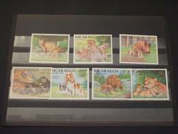 NICARAGUA - 1988 ANIMALI  7 VALORI - NUOVI(++) - Nicaragua