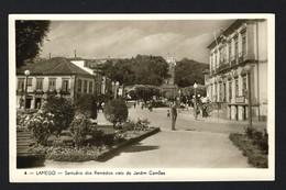 LAMEGO Postal Fotografico: Santuário Dos Remédios Visto Do Jardim Camões. Vintage Postcard (VISEU) Portugal - Viseu