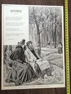 ENV 1900 MOIS POETIQUES OCTOBRE COMPOSITION TOFANI STEPHEN LIEGEARD - Collections