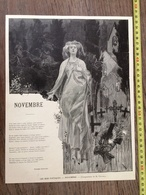 ENV 1900 MOIS POETIQUES NOVEMBRE COMPOSITION TOFANI STEPHEN LIEGEARD - Collections