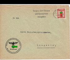 (art 2902) Brief Mit Nsdap Briefmarke 1939 + Feldpost Sst - Deutschland