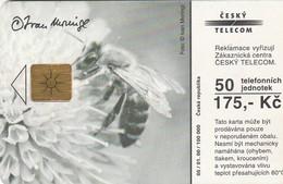 REPUBLICA CHECA. FAUNA. Moringl - The Bank Of The Creek. C302A, 05/01.00. (117) - Tarjetas Telefónicas