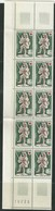 FRANCE 1967 Red Cross (Block Of 10 Stamps) Mint - France