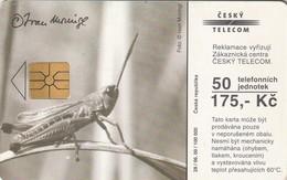 REPUBLICA CHECA. FAUNA. Moringl III. C323, 28/06.00. (118) - Tarjetas Telefónicas