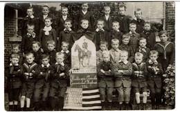 1916 Gemeenteschool HeyKruis - Haute-Croix - Heikruis - Hulde Aan Amerika - Hommage à L'Amérique - 2 Scans - Pepingen