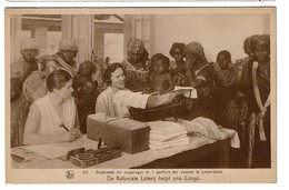 De Koloniale Loterij Helpt Ons Congo - Leopoldville - 2 Scans - Congo - Kinshasa (ex Zaire)
