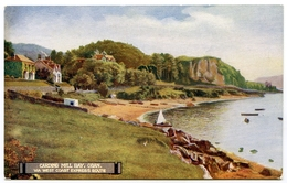 ADVERTISING : LONDON & NORTH WESTERN / CALEDONIAN RAILWAY : CARDING MILL BAY, OBAN, VIA WEST COAST EXPRESS ROUTE - Advertising