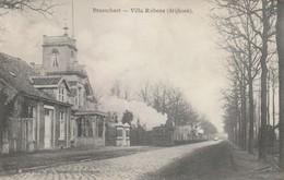 Brasschaet  Villa Rubens Avec Tram Circulé Mais Ne Possede Plus Son Timbre - Brasschaat