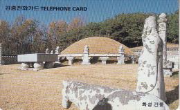SOUTH KOREA - Keon Mausoleum/Hwaseung(W3000), Used - Korea (Zuid)