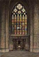 CPM - BRUSSELS - Cathédrale St. Michel - Vitrail Offert Par Leopold II En 1870 - Monuments, édifices