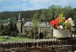 CPM - HOUFFALIZE - Eglise Vue Du Bois Des Moines - Houffalize
