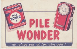 BUVARD - PILE WONDER - NE S'USE QUE SI L'ON S'EN SERT - - Batterijen