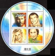 Canada (Scott No.2221 - Chanteurs Populaires / Popular Singers) [**] Feuillet / SS - Neufs
