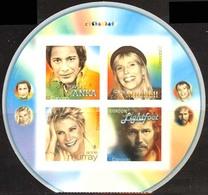 Canada (Scott No.2222 - Chanteurs Populaires / Popular Singers) [**] Autocollant / Self Adhesive - Neufs