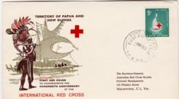 Papua New Guinea 1963 Red Cross FDC - Papua New Guinea