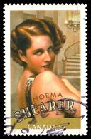 Canada (Scott No.2279a - Norma Shearer) (o) From SS / Du Feuillet - 1952-.... Règne D'Elizabeth II