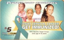 MICRONESIA - Remote Memory 5$ Card, Cervical Cancer, Used - Micronesia