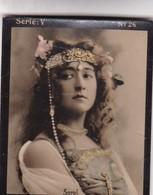 SOREL. COLORISE. CARD TARJETA COLECCIONABLE TABACO. CIRCA 1915 SIZE 4.5x5.5cm - BLEUP - Berühmtheiten