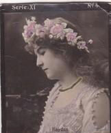 HAYDEN. COLORISE. CARD TARJETA COLECCIONABLE TABACO. CIRCA 1915 SIZE 4.5x5.5cm - BLEUP - Berühmtheiten