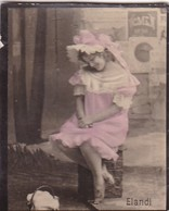 ELANDI. COLORISE. CARD TARJETA COLECCIONABLE TABACO. CIRCA 1915 SIZE 4.5x5.5cm - BLEUP - Berühmtheiten