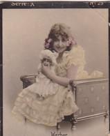 WERBER. COLORISE. CARD TARJETA COLECCIONABLE TABACO. CIRCA 1915 SIZE 4.5x5.5cm - BLEUP - Berühmtheiten