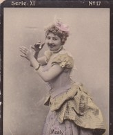 MEALY. COLORISE. CARD TARJETA COLECCIONABLE TABACO. CIRCA 1915 SIZE 4.5x5.5cm - BLEUP - Berühmtheiten