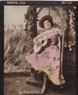 LA PRECESILLA. COLORISE. CARD TARJETA COLECCIONABLE TABACO. CIRCA 1915 SIZE 4.5x5.5cm - BLEUP - Berühmtheiten