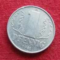 Germany 1 Pfennig 1962  KM# 8.1  German-Democratic Republic  Alemanha Oriental DDR RDA Alemania Allemagne - [ 6] 1949-1990: DDR - Duitse Dem. Rep.