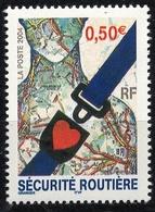 N° 3659 Sécurité Routière,  Faciale 0,50 € - France