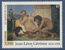 N° 3660 Jean-Léon Gérôme,  Faciale 1,11 € - France