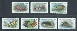 Christmas Island 1987 Wildlife Fauna Definitives Part Set Of 7 Highest Values 50c To $5 MNH - Christmas Island