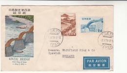 Japan / Bridges / Airmail - Japan