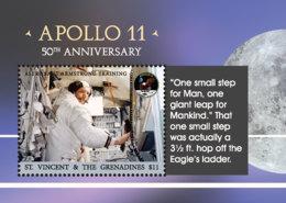 St. Vincent 2018 Apollo 11 ,astronaut ,space I201901 - St.Vincent & Grenadines
