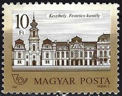 Hungary 1987 - Mi 3901C - YT 3110a ( Festetics Castle, Keszthely ) MNH** - Perf. 11½ X 12¼ - Hongrie