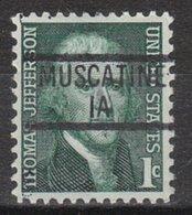 USA Precancel Vorausentwertung Preo, Locals Iowa, Muscatine 839 - Vereinigte Staaten