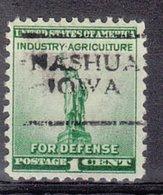 USA Precancel Vorausentwertung Preo, Locals Iowa, Nashua 701 - Vereinigte Staaten