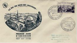 22 Décembre 1951  LE PIC DU MIDI-DE-BIGORRE   BAGNERES DE BIGORRE - 1950-1959