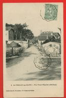 17-1328 - CHARENTE MARITIME - ILE D'OLERON - St. TROJAN LES BAINS - Rue Omer Charlet - Ile D'Oléron