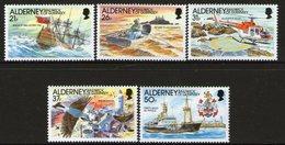 ALDERNEY, 1991 CASQUET LIGHTHOUSE 5 MNH - Alderney
