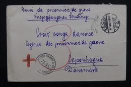 HONGRIE - Enveloppe De Pecs En Franchise Postal Pour La Croix Rouge De Copenhague En 1916 - L 32795 - Hongrie
