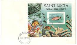 18700 A - Bloc&feuillet - St.Lucie (1979-...)